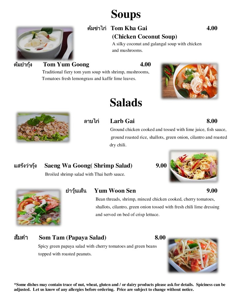 New Nittha thai menu new update-page-1